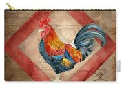 Le Coq - Timeless Rooster  Carry-all Pouch