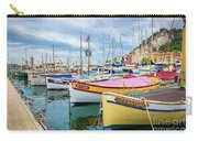 Le Fortune At Nice Harbor, France Carry-all Pouch