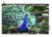 Le Peacock Carry-all Pouch
