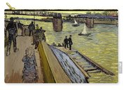Le Pont De Trinquetaille In Arles Carry-all Pouch by Vincent Van Gogh
