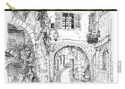 Le Pontis Saint-paul De Vence France Carry-all Pouch