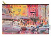 Le Port De St Tropez Carry-all Pouch by Peter Graham