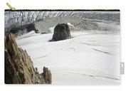 Le Rognon Glacier D'argentiere Vue Depuis L'aiguille Des Grands Montets Argentiere Haute Savoie Carry-all Pouch