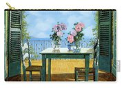 Le Rose E Il Balcone Carry-all Pouch