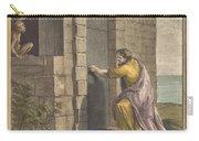 Le Thesauriseur Et La Singe (the Miser And The Monkey) Carry-all Pouch