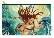 Lea The Mermaid Carry-all Pouch