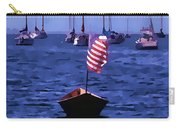 Leader Of The Pack- Bristol Rhode Island Oil Effect Carry-all Pouch