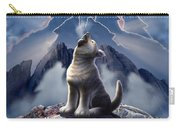 Leader Of The Pack Carry-all Pouch by Jerry LoFaro