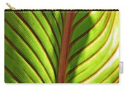 Leaf Abstract  23 Carry-all Pouch