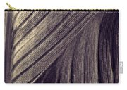 Leaf Abstract  24  Sepia   Carry-all Pouch