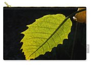 Leaf Aglow Carry-all Pouch
