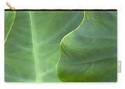 Leaf Edges Carry-all Pouch