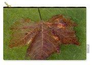 Leaf On Algae Carry-all Pouch
