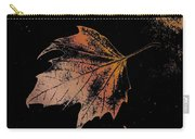 Leaf On Bricks Carry-all Pouch