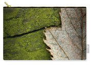 Leaf On Green Wood Carry-all Pouch