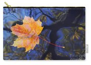 Leaf On The Water Carry-all Pouch