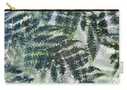 Leaf Patterns Carry-all Pouch