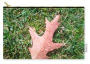 Leaf Resisting The Rain Carry-all Pouch