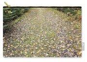 Leaf-strewn Trail Carry-all Pouch
