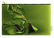 Leaf Twists Carry-all Pouch