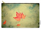 Leaf Upon The Water Carry-all Pouch