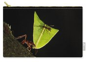 Leafcutter Ant Atta Sp Carrying Leaf Carry-all Pouch