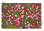 Leafs On Grass Carry-all Pouch