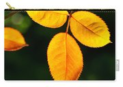 Leafs Over Water Carry-all Pouch by Carlos Caetano