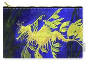 Leafy Sea Dragon 1 Carry-all Pouch by Lucien Van Oosten