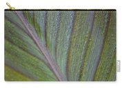 Leafy Texture Carry-all Pouch