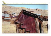 Leaning Bodie Outhouse Carry-all Pouch