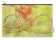 Leaning In Bicycle Carry-all Pouch