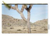 Leaning Joshua Tree Carry-all Pouch