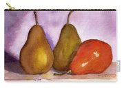 Leaning Pear Carry-all Pouch