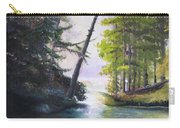 Leaning Tree Lake George Carry-all Pouch