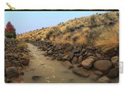 Learn To Swim, Creek Bed Quickly Filling With Water During Autumn Rainstorms In The High Desert Carry-all Pouch