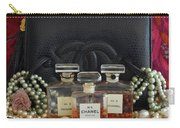 Leather And Lace 2 Carry-all Pouch
