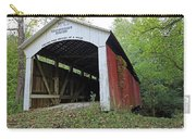 Leatherwood Station Covered Bridge Indiana Carry-all Pouch
