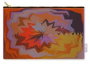 Leaves Abstract - Autumn Motif Carry-all Pouch