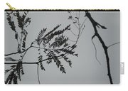 Leaves Against A Grey Sky Carry-all Pouch