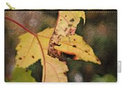 Leaves And Autumn Carry-all Pouch