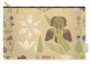 Leaves And Flowers From Nature Carry-all Pouch