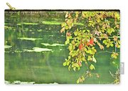 Leaves And Water Carry-all Pouch