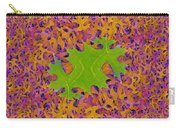 Leaves In Fractal 2 Carry-all Pouch