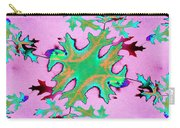 Leaves In Fractal Carry-all Pouch