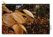 Leaves In Late Autumn Carry-all Pouch