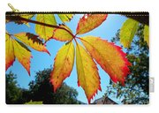 Leaves In Sunlight 4 Carry-all Pouch