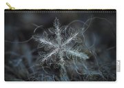 Leaves Of Ice Carry-all Pouch by Alexey Kljatov
