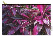 Leaves Of Pink Carry-all Pouch