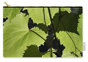 Leaves Of Wine Grape Carry-all Pouch